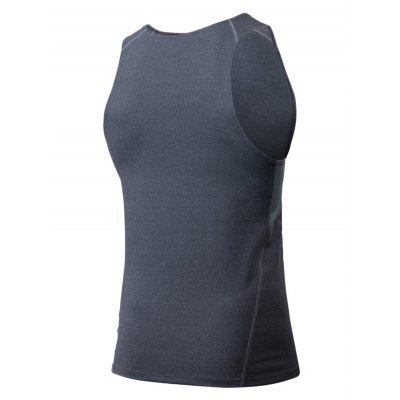 Sports Basketball Running Vest for MenWeight Lifting Clothes<br>Sports Basketball Running Vest for Men<br><br>Features: Quick Dry, High elasticity, Breathable<br>Gender: Men<br>Material: Spandex, Polyester<br>Package Content: 1 x Vest<br>Package size: 35.00 x 30.00 x 2.00 cm / 13.78 x 11.81 x 0.79 inches<br>Package weight: 0.1700 kg<br>Product weight: 0.1500 kg