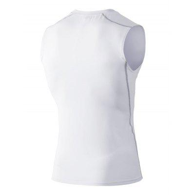 Sports Running Elastic Quick Dry Vest for MenWeight Lifting Clothes<br>Sports Running Elastic Quick Dry Vest for Men<br><br>Features: Quick Dry, High elasticity, Breathable<br>Gender: Men<br>Material: Spandex, Polyester<br>Package Content: 1 x Vest<br>Package size: 35.00 x 30.00 x 2.00 cm / 13.78 x 11.81 x 0.79 inches<br>Package weight: 0.2000 kg<br>Product weight: 0.1800 kg