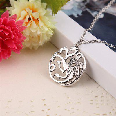 Fashion Zinc Alloy Dragon Necklace for MenNecklaces &amp; Pendants<br>Fashion Zinc Alloy Dragon Necklace for Men<br><br>Package Contents: 1 x Necklace<br>Package size (L x W x H): 5.20 x 5.20 x 2.30 cm / 2.05 x 2.05 x 0.91 inches<br>Package weight: 0.0120 kg<br>Product weight: 0.0120 kg<br>Style: Animal<br>Type: Necklaces