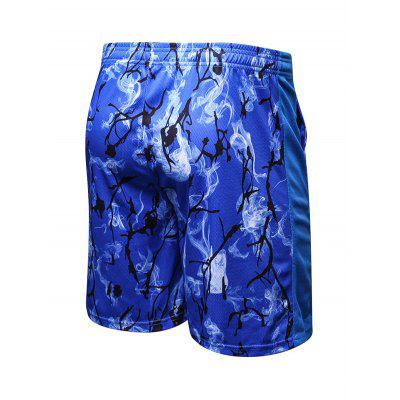 Elastic Pattern Breathable Shorts for MenWeight Lifting Clothes<br>Elastic Pattern Breathable Shorts for Men<br><br>Features: High elasticity, Breathable, Quick Dry<br>Gender: Men<br>Material: Polyester, Spandex<br>Package Content: 1 x Shorts<br>Package size: 35.00 x 30.00 x 2.00 cm / 13.78 x 11.81 x 0.79 inches<br>Package weight: 0.2200 kg<br>Product weight: 0.2000 kg<br>Type: Shorts