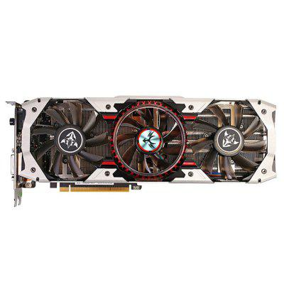Original Colorful iGame1070 X - 8GD5 Top Graphics CardGraphics &amp; Video Cards<br>Original Colorful iGame1070 X - 8GD5 Top Graphics Card<br><br>Brand: Colorful<br>Built-in Cooler Fan: Yes<br>Display Core: GeForce GTX 1070<br>Interface Type: DP 1.4, DVI, HDMI<br>Manufacturing Process: 16nm<br>Material: Aluminum<br>Model: iGame1070 X - 8GD5<br>Package size: 31.00 x 16.00 x 6.00 cm / 12.2 x 6.3 x 2.36 inches<br>Package weight: 2.0700 kg<br>Packing List: 1 x Original Colorful iGame1070 X - 8GD5 Top Graphics Card, 1 x CD, 2 x 8 Pin Cable, 1 x iGame Tool Kit, 1 x English Manual<br>PCI Express Type: X16<br>Power Interface: 8 + 8Pin<br>Product size: 28.00 x 12.00 x 4.30 cm / 11.02 x 4.72 x 1.69 inches<br>Product weight: 1.0100 kg<br>Supports System: Win8 64, Win 2000, Win 2008, Win vista, Win XP, Win7 32, Win7 64, Win8 32<br>Video Memory Bit Wide: 256bit<br>Video Memory Capacity: 8GB<br>Video Memory Frequency: 8008MHz<br>Video Memory Type: GDDR5