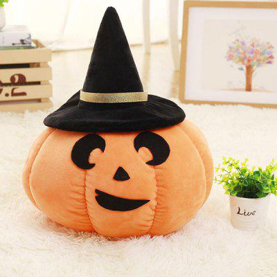 Lovely Pumpkin Stuffed Toy for Halloween Decoration