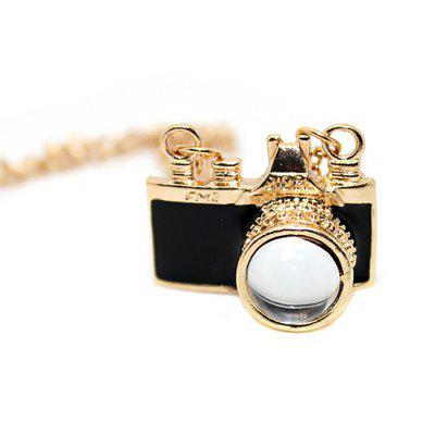 Creative Alloy Mini Camera Women NecklaceNecklaces &amp; Pendants<br>Creative Alloy Mini Camera Women Necklace<br><br>Occasions: Performance<br>Package Contents: 1 x Necklace<br>Package size (L x W x H): 4.30 x 3.80 x 3.40 cm / 1.69 x 1.5 x 1.34 inches<br>Package weight: 0.0350 kg<br>Product weight: 0.0150 kg<br>Style: Fashion<br>Type: Necklaces