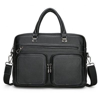 FEIDIKABOLO Men Fashion PU Shoulder Bag