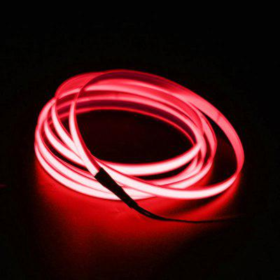 BRELONG 2m DC 12V Red EL LED Neon Cold Strip Light