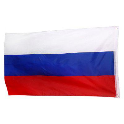 Practical Polyester Material Russian Flag