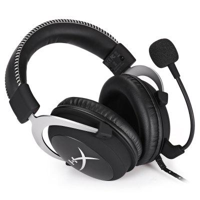 HyperX HX - HSCL - SR / NA Gaming HeadsetGaming Headphones<br>HyperX HX - HSCL - SR / NA Gaming Headset<br><br>Application: Working, Gaming<br>Brand: HyperX<br>Cable Length (m): 2M<br>Compatible with: PC, Computer, PS3, Xbox one<br>Connecting interface: 3.5mm<br>Connectivity: Wired<br>Driver unit: 53mm<br>Frequency response: 152Hz - 28KHz<br>Function: Microphone, Noise Cancelling<br>Impedance: 30ohms<br>Material: Metal, Foam<br>Model: HX - HSCL - SR / NA<br>Package Contents: 1 x Gaming Headset, 1 x Extension Cord ( 2m ), 1 x Carry Bag, 1 x English User Manual<br>Package size (L x W x H): 24.00 x 22.00 x 12.00 cm / 9.45 x 8.66 x 4.72 inches<br>Package weight: 0.6950 kg<br>Product weight: 0.3140 kg<br>Sensitivity: 40dB<br>Type: Over-ear