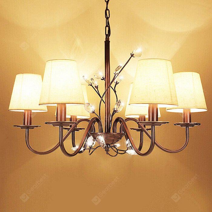 American Simple Classical Crystal Chandelier 220V