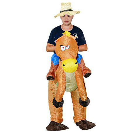 Traje Inflable Caballo