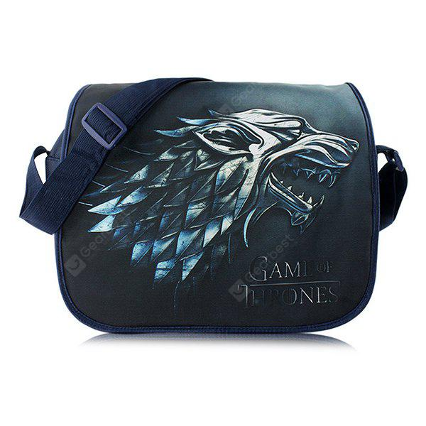 Men Stylish Printed Shoulder Bag