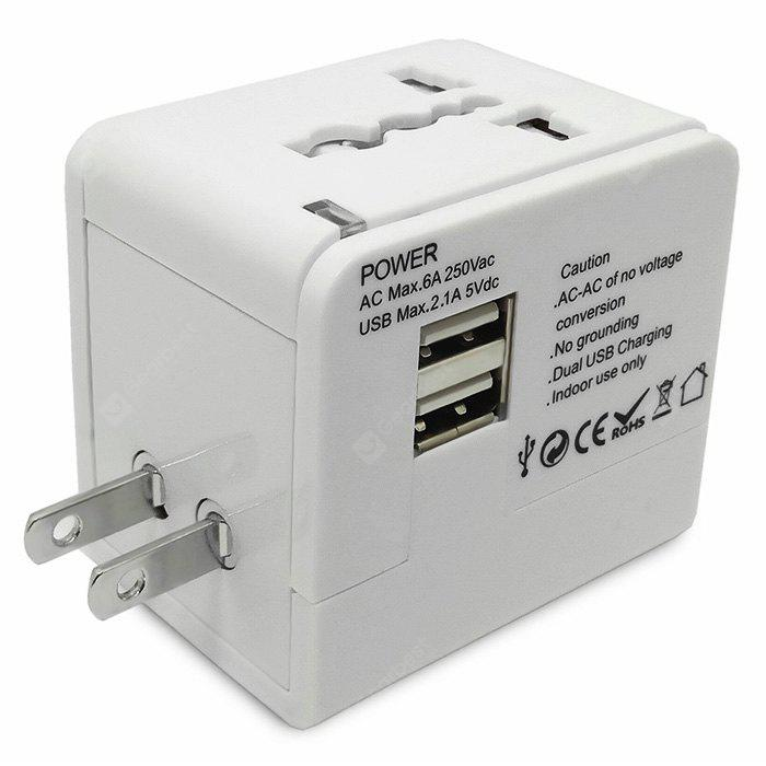"""Multinational Travel Power Adapter Wall Charger"""