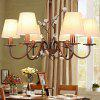 American Simple Classical Crystal Chandelier 220V - EARTHY
