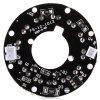 LED Infrared 90 Degree Light Plate - WHITE AND BLACK