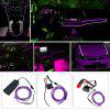 BRELONG 2m DC 12V Purple EL LED Neon Cold Strip Light - PURPLE
