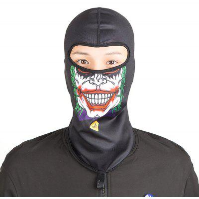 CTSmart Cycling Face Skull Pattern Full Cover Protective Mask