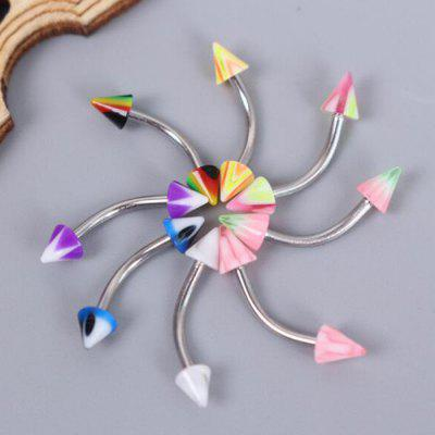 30PCS 3mm Colorful Eyebrow Piercing Jewelry