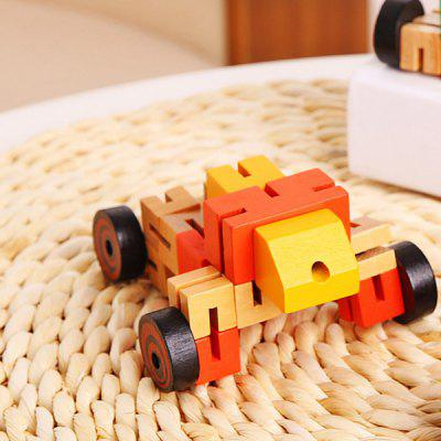 Educational Toys Multifunctional Wooden RobotsOther Educational Toys<br>Educational Toys Multifunctional Wooden Robots<br><br>Age: 3 Years+<br>Applicable gender: Unisex<br>Design Style: Other<br>Features: Educational<br>Gender: Unisex<br>Material: Wood<br>Package Contents: 1 x Wooden Robot<br>Package size (L x W x H): 10.00 x 16.00 x 2.00 cm / 3.94 x 6.3 x 0.79 inches<br>Package weight: 0.1300 kg<br>Product size (L x W x H): 9.00 x 15.00 x 1.50 cm / 3.54 x 5.91 x 0.59 inches<br>Product weight: 0.1200 kg<br>Small Parts: No<br>Type: Intelligence toys<br>Washing: No