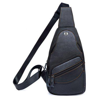 Men Leisure Retro Leather Shoulder Bag