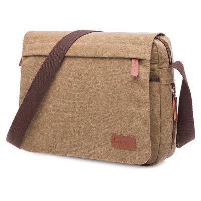 Men Casual Fashion Canvas Shoulder Bag