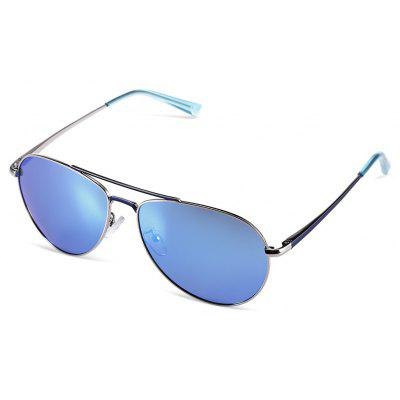 Unisex Full Stainless Steel Frame Fashion Óculos de sol