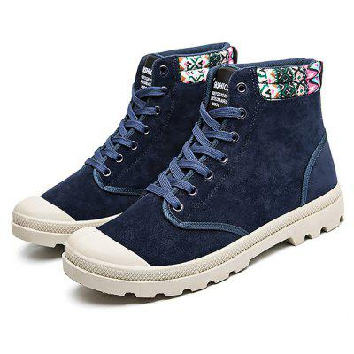 Masculino Stylish Ethnic Style High Top Casual Shoes