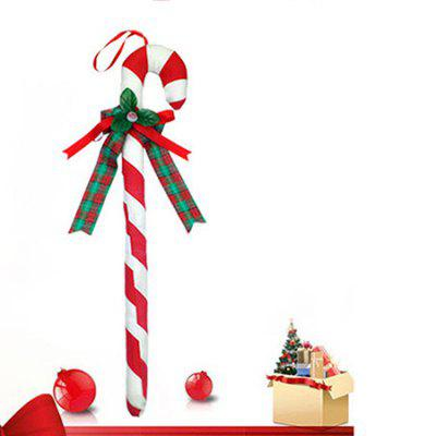 MCYH406 1PC Christmas Crutch DecorationChristmas Supplies<br>MCYH406 1PC Christmas Crutch Decoration<br><br>For: All<br>Material: Nonwoven<br>Package Contents: 1 x Christmas Crutch<br>Package size (L x W x H): 61.00 x 10.00 x 6.00 cm / 24.02 x 3.94 x 2.36 inches<br>Package weight: 0.2500 kg<br>Product size (L x W x H): 60.00 x 8.00 x 1.00 cm / 23.62 x 3.15 x 0.39 inches<br>Product weight: 0.2000 kg<br>Usage: Christmas