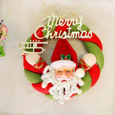 MCYH 364 2PCS Christmas Garland Hanging Door DecorationChristmas Supplies<br>MCYH 364 2PCS Christmas Garland Hanging Door Decoration<br><br>Brand: MCYH<br>For: All<br>Package Contents: 2 x Christmas Garland<br>Package size (L x W x H): 22.00 x 22.00 x 10.00 cm / 8.66 x 8.66 x 3.94 inches<br>Package weight: 0.3500 kg<br>Product weight: 0.3000 kg<br>Usage: Christmas