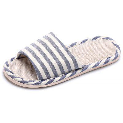 Male Comfortable Breathable Striped Slippers