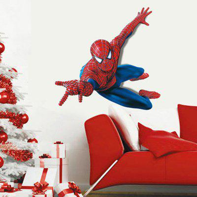Creative DIY Removable Cartoon Hero Image Wall Sticker 225824101
