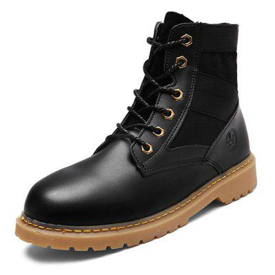 Female Multifunctional Medium Top Casual Martin BootsWomens Boots<br>Female Multifunctional Medium Top Casual Martin Boots<br><br>Closure Type: Lace-Up<br>Contents: 1 x Pair of Shoes<br>Decoration: Split Joint<br>Materials: PU, TPR, Flannel<br>Occasion: Sports, Shopping, Running, Outdoor Clothing, Holiday, Daily, Casual, Riding<br>Outsole Material: TPR<br>Package Size ( L x W x H ): 30.00 x 20.00 x 12.00 cm / 11.81 x 7.87 x 4.72 inches<br>Package Weights: 0.85kg<br>Pattern Type: Solid<br>Seasons: Autumn,Spring<br>Style: Modern, Leisure, Fashion, Comfortable, Casual<br>Toe Shape: Round Toe<br>Type: Boots<br>Upper Material: Flannel,PU