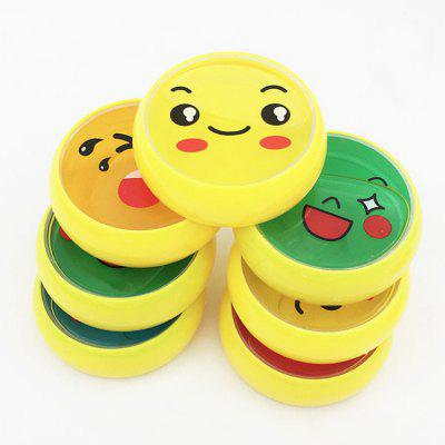 1PC DIY Smiling Face Style Plasticine Toy for KidsSoft Clay &amp; Tools<br>1PC DIY Smiling Face Style Plasticine Toy for Kids<br><br>Age Range: &gt; 3 years old<br>Materials: Crystal Mud<br>Package Content: 1 x Plasticine Toy<br>Package Dimension: 8.00 x 8.00 x 4.00 cm / 3.15 x 3.15 x 1.57 inches<br>Package Weights: 0.0950KG<br>Product Dimension: 6.80 x 6.80 x 2.00 cm / 2.68 x 2.68 x 0.79 inches<br>Products Type: Plasticine Toy
