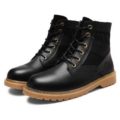 Female Multifunctional Medium Top Casual Martin Boots