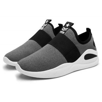 Männlich Breathable Soft Slip On Sneakers