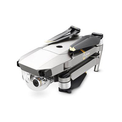 DJI Mavic Pro Platinum Foldable RC Quadcopter - RTFRC Quadcopters<br>DJI Mavic Pro Platinum Foldable RC Quadcopter - RTF<br><br>Age: Above 14 years old<br>Battery: 3830mAh 11.1V 3S LiPo<br>Brand: DJI<br>Built-in Gyro: 6 Axis Gyro<br>Camera Pixels: 12.71MP ( effective pixels: 12.35MP )<br>Channel: Unknown<br>Charging Time.: 3.5 hours<br>Compatible with Additional Gimbal: Yes<br>Control Distance: 7km<br>Detailed Control Distance: 7km<br>Diagonal Length: 335mm<br>External Memory: Micro SD card up to 64GB (not included)<br>Features: Radio Control, WiFi APP Control, Camera, WiFi FPV, Brushless Version<br>Flying Time: About 30mins<br>FPV Distance: 7km<br>Functions: Visual Tracking, Waypoints, Speed up, Forward/backward, Up/down, Turn left/right, Gimbal Control, Hover, Panorama Shot, Point of Interest, Gesture Mode, Sense and Avoid, Selfie, FPV, Slow down, Sideward flight<br>Hover Accuracy: vertical: + / -0.1m ( Vision Positioning ) or + / -0.5m; horizontal:  + / -0.3m ( Vision Positioning active ) or + / -1.5m<br>Kit Types: RTF<br>Level: Advanced Level<br>Max Ascent Speed: 16.4ft/s ( 5m/s ) in Sport Mode<br>Max Descent Speed: 9.8ft/s ( 3m/s )<br>Max Flying Height: 16404 feet ( 5000m )<br>Max Speed: 40 mph ( 65 kph ) in Sport Mode without wind<br>Model: Mavic Pro Platinum<br>Model Power: Built-in rechargeable battery<br>Motor Type: Brushless Motor<br>Package Contents: 1 x Aircraft, 1 x Transmitter, 1 x Intelligent Flight Battery, 1 x Charger, 1 x Power Cable, 3 x Pairs of Propellers, 3 x RC Cable, 1 x Gimbal Cover, 1 x Gimbal Clamp, 1 x 16GB Micro USB Card, 1 x Mic<br>Package size (L x W x H): 26.00 x 26.00 x 12.00 cm / 10.24 x 10.24 x 4.72 inches<br>Package weight: 2.0250 kg<br>Product size (L x W x H): 19.80 x 8.30 x 8.30 cm / 7.8 x 3.27 x 3.27 inches<br>Product weight: 0.7430 kg<br>Radio Mode: Mode 2 (Left-hand Throttle),WiFi APP<br>Remote Control: 2.4GHz Wireless Remote Control<br>Satellite System: GLONASS,GPS<br>Size: Medium<br>Transmitter Power: Built-in rechargeable battery<br>Type: Indoor, Outdoor, Quadcopter<br>Video Resolution: C4K: 4096 x 2160 24fps; 4K: 3840 x 2160 24 / 25 / 30fps; 2.7K: 2720 x 1530 24 / 25 / 30fps;  FHD: 1920 x 1080 24 / 25 / 30 / 48 / 50 / 60 / 96fps;  HD: 1280 x 720 24 / 25 / 30 / 48 / 50 / 60 / 120fps