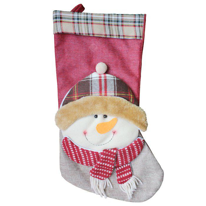 Decorative Cute Snowman Gift Packing Christmas Stocking