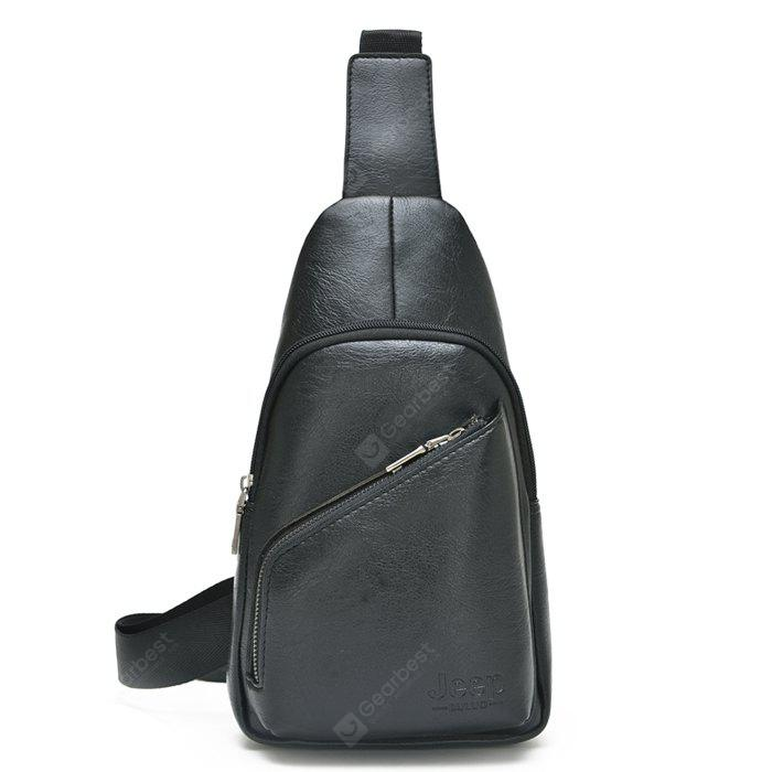 c4ec01e59 Men Leisure Multifuncional PU Shoulder Bag - R$91.70 Compras Online|  GearBest BR