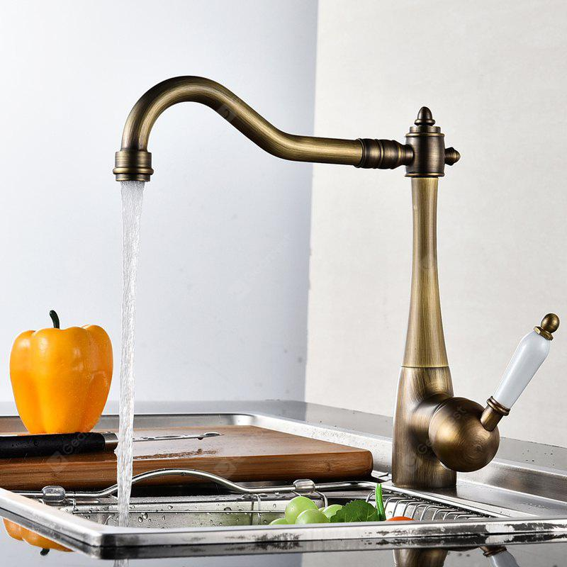 LING HAO Single Handle Antique Kitchen Faucets - $74.44 Free ...