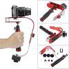 Mini Single-hand Handheld Gimbal Stabilizer for Camera - RED