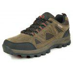 Male Outdoor Durable Running Hiking Athletic Shoes - BROWN