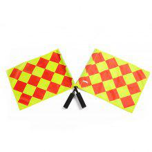 2PCS Command Referee Flag for Football Match