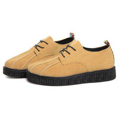 Masculino British Simple Soft Casual Leather Shoes