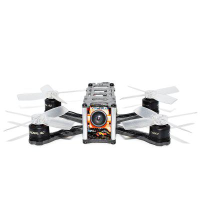 QAV105 105mm Mini Brushless FPV Racing DroneBrushless FPV Racer<br>QAV105 105mm Mini Brushless FPV Racing Drone<br><br>Continuous Current: 10A<br>Firmware: BLHeli-S<br>Flight Controller Type: F3<br>Functions: DShot300, DShot600, Oneshot125, DShot150, Oneshot42, Multishot<br>Input Voltage: 2 - 3S<br>KV: 7000<br>Lens Diameter: 2.1mm<br>Model: 1105<br>Motor Type: Brushless Motor<br>Package Contents: 1 x QAV105 Frame Kit, 4 x Brushless Motor, 1 x F3 Flight Control System ( with VTX, 4-in-1 BLHeli - S 10A ESC ), 1 x RunCam Micro Swift FPV Camera, 8 x 2435 Four-blade Propeller, 1 x Rubber Band, 1 x<br>Package size (L x W x H): 11.00 x 16.00 x 4.00 cm / 4.33 x 6.3 x 1.57 inches<br>Package weight: 0.1020 kg<br>Product size (L x W x H): 8.30 x 9.90 x 2.60 cm / 3.27 x 3.9 x 1.02 inches<br>Product weight: 0.0600 kg<br>Sensor: CCD<br>Type: Frame Kit<br>Version: BNF<br>Video Resolution: 600TVL
