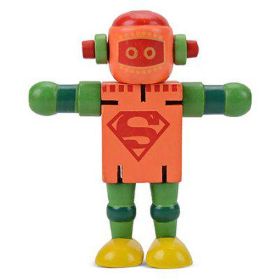 Buy Changeable Robot Toy for Kids COLORMIX Toys & Hobbies > Puzzle & Educational > Other Educational Toys for $1.43 in GearBest store