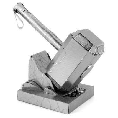 3D Sledge Hammer Style Metal Puzzle Model Toy