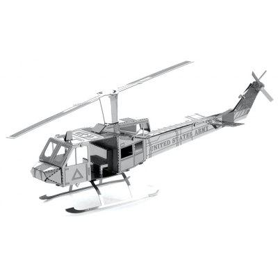 Helicopter Style 3D Metal Puzzle Model Toy