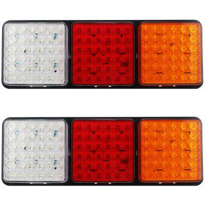 HL - F - 078 - 2 2pcs 108 LED Waterproof ABS Tail Light