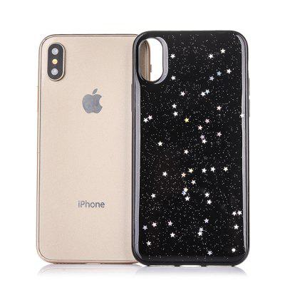TPU Material Starry Sky Pattern Phone Case for iPhone XiPhone Cases/Covers<br>TPU Material Starry Sky Pattern Phone Case for iPhone X<br><br>Compatible for Apple: iPhone X<br>Features: Back Cover<br>Material: TPU<br>Package Contents: 1 x Phone Cover Case<br>Package size (L x W x H): 16.00 x 8.00 x 2.00 cm / 6.3 x 3.15 x 0.79 inches<br>Package weight: 0.0340 kg<br>Product size (L x W x H): 14.80 x 7.00 x 1.00 cm / 5.83 x 2.76 x 0.39 inches<br>Product weight: 0.0240 kg<br>Style: Pattern, Modern