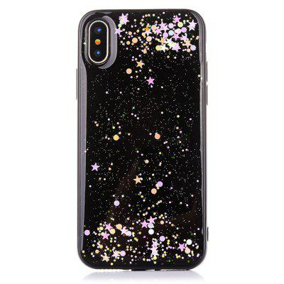 TPU Material Star Sky Pattern Phone Case for iPhone X