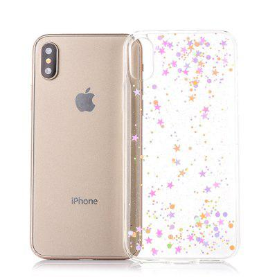 TPU Material Star Sky Pattern Phone Case for iPhone XiPhone Cases/Covers<br>TPU Material Star Sky Pattern Phone Case for iPhone X<br><br>Compatible for Apple: iPhone X<br>Features: Back Cover<br>Material: TPU<br>Package Contents: 1 x Phone Cover Case<br>Package size (L x W x H): 16.00 x 8.00 x 2.00 cm / 6.3 x 3.15 x 0.79 inches<br>Package weight: 0.0340 kg<br>Product size (L x W x H): 14.60 x 7.00 x 1.00 cm / 5.75 x 2.76 x 0.39 inches<br>Product weight: 0.0240 kg<br>Style: Pattern, Modern