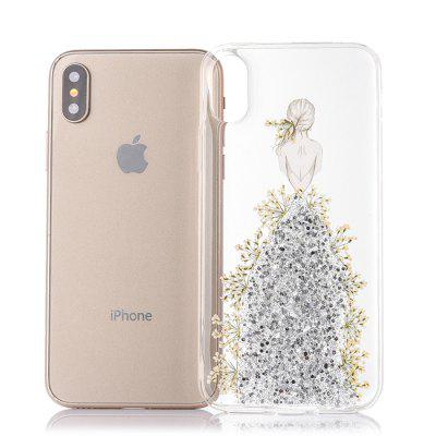 Wedding Dress Girl Pattern Phone Case for iPhone XiPhone Cases/Covers<br>Wedding Dress Girl Pattern Phone Case for iPhone X<br><br>Compatible for Apple: iPhone X<br>Features: Back Cover<br>Material: TPU<br>Package Contents: 1 x Phone Cover Case<br>Package size (L x W x H): 16.00 x 8.00 x 2.00 cm / 6.3 x 3.15 x 0.79 inches<br>Package weight: 0.0370 kg<br>Product size (L x W x H): 14.60 x 7.00 x 1.00 cm / 5.75 x 2.76 x 0.39 inches<br>Product weight: 0.0270 kg<br>Style: Pattern, Modern